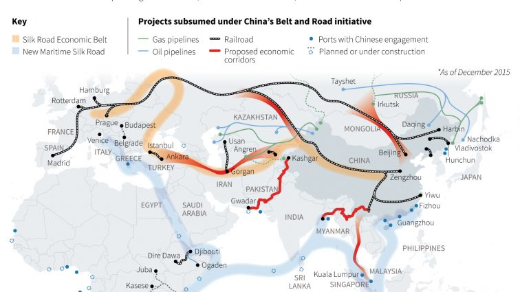 There is a Black Mecca forming on China's 20 Trillion Dollar New Silk Road